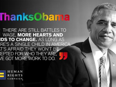 #ThanksObama: 22 Important Moments for LGBTQ Progress